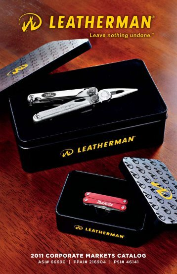 2011_Leatherman_CorporateMarkets... - Goris Group