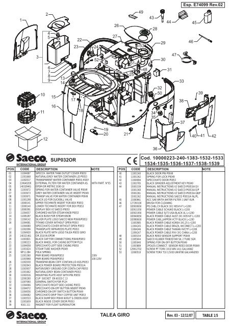 E74099 Talea Giro (SUP032OR) Rev.03.indd
