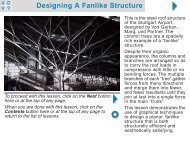 Designing A Fanlike Structure