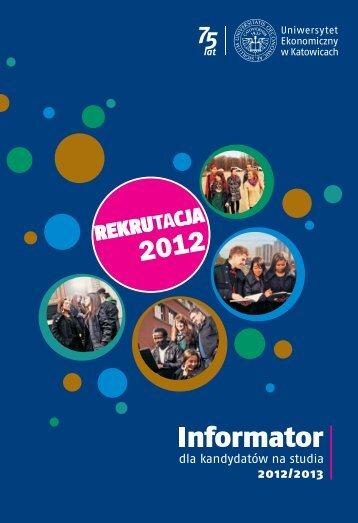 Informator dla kandydatów 2012/2013