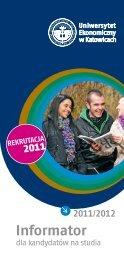 Informator dla kandydatów 2011/2012