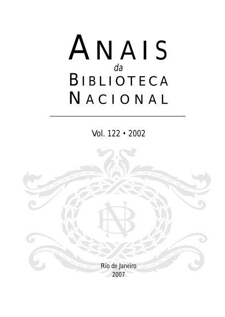 122 2002 - Fundação Biblioteca Nacional