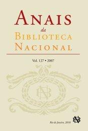 127 • 2007 - Fundação Biblioteca Nacional