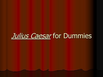 Caesar Summary