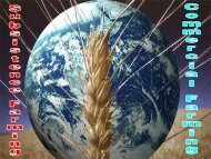 SUBSISTENCE FARMING VS. COMMERCIAL FARMING