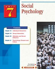 Chapter 18: Individual Interaction