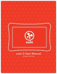 nabi 2 User Manual - Abt