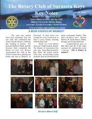 05/03/12 - Rotary Club of the Sarasota Keys, Florida, USA