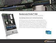 Rendernode ProViz™ R40 - CADnetwork