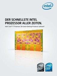 Der schnellste Intel Prozessor aller zeIten. - XI-MACHINES