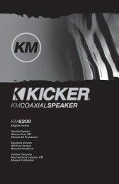 2009 KM Coax Multilingual e01.indd - Sonic Electronix