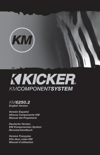 2009 KM Components Multilingual c01.indd - Sonic Electronix