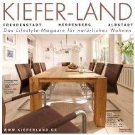 Das Lifestyle-Magazin für natürliches Wohnen - Kieferland