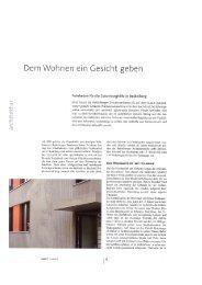 opusc - Planen & Gestalten mit Beton Wohnen Gutenberghöfe - ap88