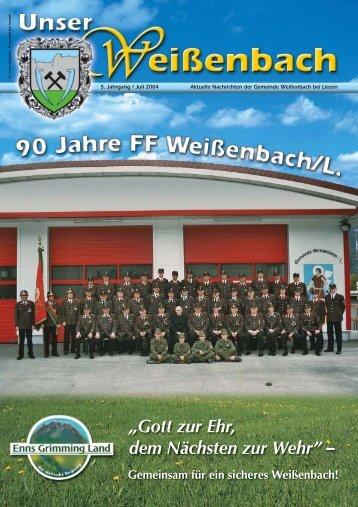 Gemeindezeitung 2/2004 - Weißenbach bei Liezen
