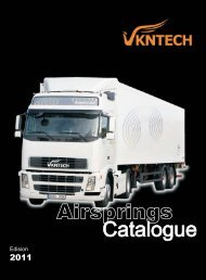 VKNTECH air spring Catalogue 2011