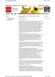Seite 1 von 3 tele.ring SpecktakusEnde 26.01.2005 http://www ...