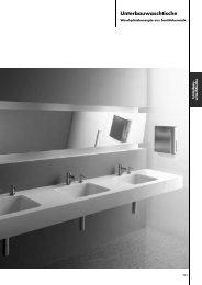 Unterbauwaschtische - Stand: 11.2012