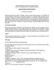 Instruction for Author - Walter de Gruyter