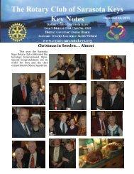 12/15/11 - Rotary Club of the Sarasota Keys, Florida, USA