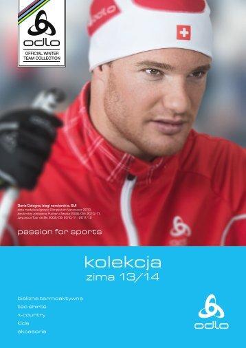 Kolekcja odzieży zimowej Odlo na sezon zimowy 2013/2014
