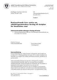 Remissyttrande över remiss om utbildningsnämndens förslag ... - Insyn