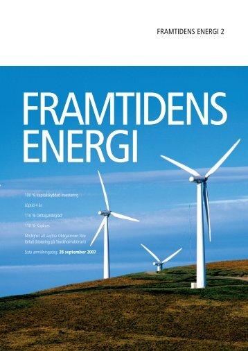 FRAMTIDENS ENERGI 2 - Carnegie