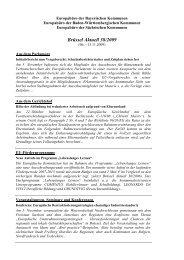 Brüssel Aktuell 38/2009 - Europabüro der bayerischen Kommunen