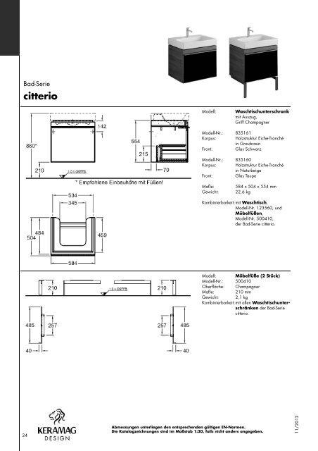 Citterio - Stand: 11.2012