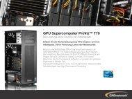 GPU Supercomputer ProViz™ T79 - CADnetwork