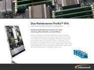 Duo-Renderserver ProViz™ R16 - CADnetwork