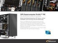 GPU Supercomputer ProViz™ T92 - CADnetwork