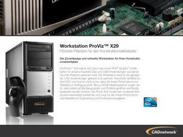 Workstation ProViz™ X29 - CADnetwork
