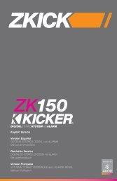 2009 ZK150 Multilingual i01.indd - Sonic Electronix