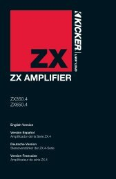 ZX AMPLIFIER - Sonic Electronix