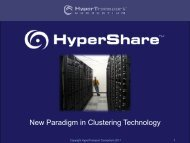 New Paradigm in Clustering Technology - Computer Architecture ...