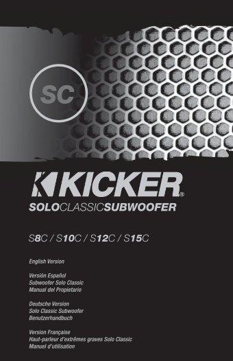 2009 SC Multilingual d01.indd - Sonic Electronix