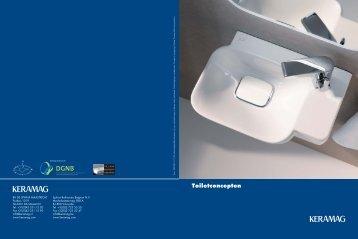 Toiletconcepten - Keramag