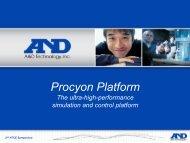 Procyon Platform - Computer Architecture Group