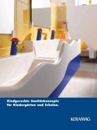 Kindgerechte Sanitärkonzepte für Kindergärten und ... - Keramag