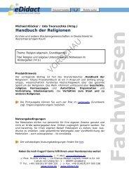 Handbuch der Religionen - beim OLZOG Verlag