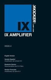 IX AMPLIFIER - Abt