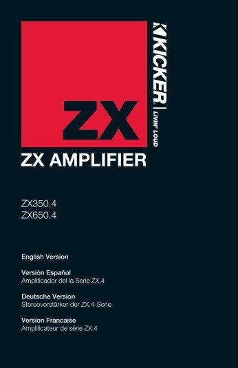 ZX AMPLIFIER - Sonic Electronix