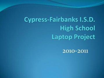 Student Orientation Information - Cypress-Fairbanks High Schools ...