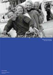 Altersleitbild 2000 - Gemeinde Lyss