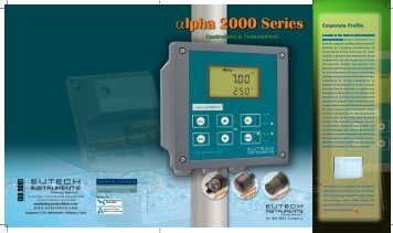 Alpha 2000 family cover - Welcome to Sechang Instruments!