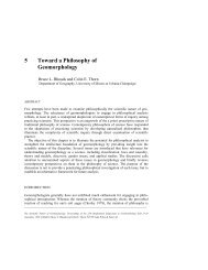 Chapter 5 - Toward a Philosophy of Geomorphology Bruce L ...