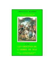 les origines de l'arbre de mai - Racines et Traditions en Pays d ...