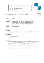 Protokoll der FSR-Sitzung vom 17. April 2013 - Fachschaft ...