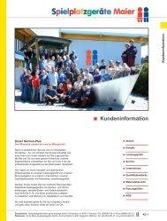 Planungshilfen - Spielplatzgeräte Maier
